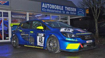Kraus/Strycek starten im Opel Astra TCR