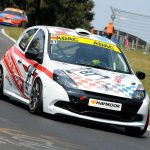 "H&S-Racing Renault Clio ""Luft""-los bei RCN5."